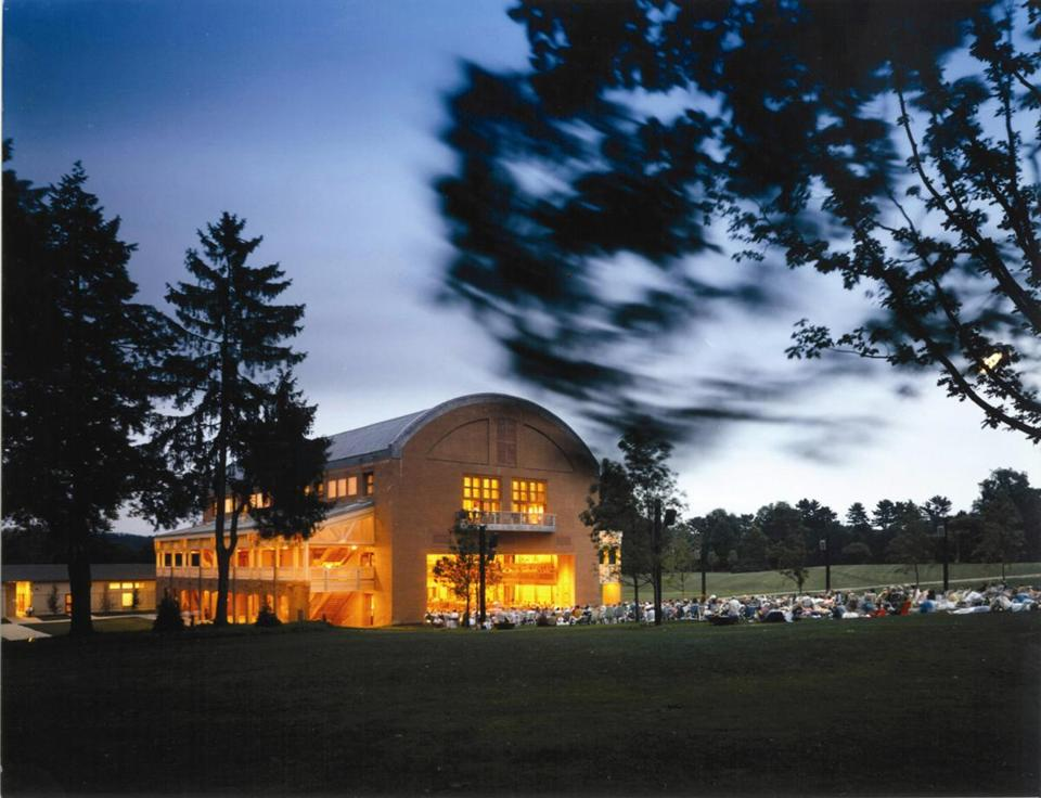 Tanglewood events in Lenox draw thousands of visitors from the New York and Boston areas.